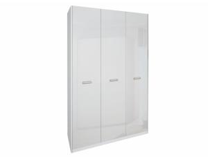 Шкаф 3д «Белла» без зеркала | Глянец белый