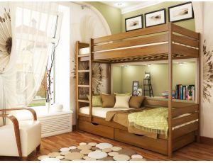 Двухъярусная кровать Дуэт Эстелла 90х190 см