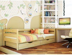 Дерев'яне односпальне ліжко Нота 90х200 см Естелла
