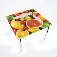 Стол обеденный Квадратный с полкой Fruit