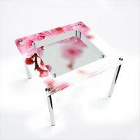 Стол обеденный Квадратный с полкой Sakura