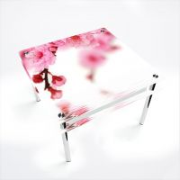 Стол обеденный Квадратный с проходящей полкой Sakura