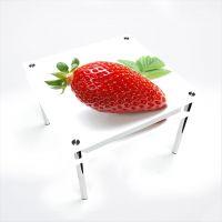 Стол обеденный Квадратный с проходящей полкой  Sweet berry