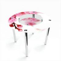Стол обеденный Круглый с полкой Sakura