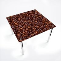 Стол обеденный Квадратный  Coffee aroma