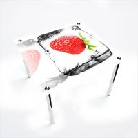 Стол обеденный Квадратный  Ice berry