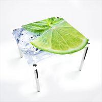 Стол обеденный Квадратный  Ice lime