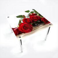 Стол обеденный Квадратный   Red Roses