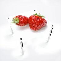 Стол обеденный Квадратный  Red berry