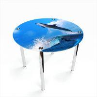 Стол обеденный Круглый Dolphin