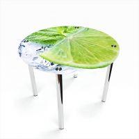 Стол обеденный Круглый Ice lime