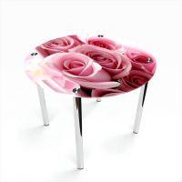 Стол обеденный Круглый Pink Roses