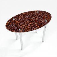 Стол обеденный Овальный Coffee aroma