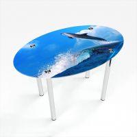 Стол обеденный Овальный Dolphin