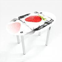 Стол обеденный Овальный Ice berry