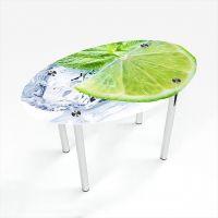 Стол обеденный Овальный  Ice lime