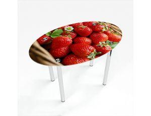 Стол обеденный Овальный Strawberry