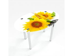 Стол обеденный Овальный Sunflower