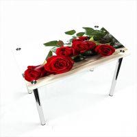 Стол обеденный Прямоугольный Red Roses