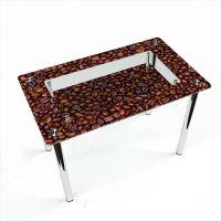 Стол обеденный Прямоугольный с полкой Coffee aroma
