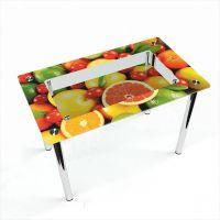 Стол обеденный Прямоугольный с полкой Fruit