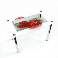 Стол обеденный Прямоугольный с полкой Red berry