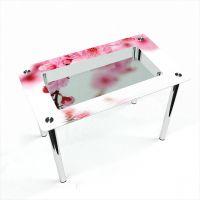Стол обеденный Прямоугольный с полкой Sakura