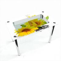 Стол обеденный Прямоугольный с полкой Sunflower