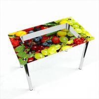 Стол обеденный Прямоугольный с полкой  Wood berry