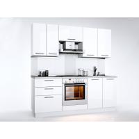 Кухня прямая Миромарк Бьянка 2,0 м