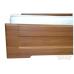 Двуспальная кровать Кармен 160*200 деревянный вклад