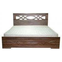 Двуспальная кровать Лиана 160*200 деревянный вклад