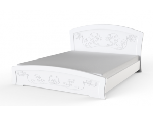 Двуспальная кровать Эмилия 180*200 с пружинным подъёмным м-м