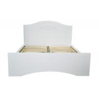 Двуспальная кровать Анжелика 160*200 деревянный вклад
