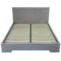Двуспальная кровать Марсель 160*200 деревянный вклад