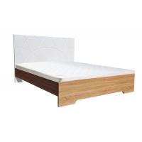 Двуспальная кровать Миа деревянный вклад 160*200