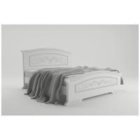 Двуспальная кровать Анабель 160*200 деревянный вклад