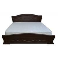 Двуспальная кровать Виолетта 160*200 деревянный вклад