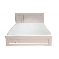Двуспальная кровать Зоряна 160*200 деревянный вклад