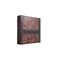 Четырехдверный шкаф купе Вирджиния 187,4х213х52,6 см
