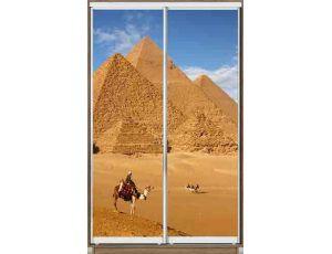 Шкаф купе 2 двери с фотопечатью 170х60х240 см