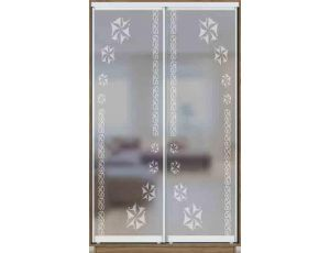 Шкаф купе 2 двери с матированием 130х45х240 см