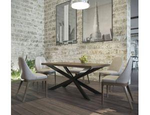 Обеденный стол Икс Металл-Дизайн