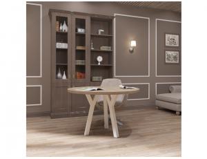 Обеденный стол Уно 3 ноги Металл-Дизайн