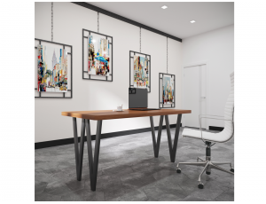 Обеденный стол Ви4 ноги Металл-Дизайн