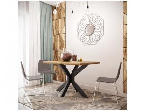 Обеденный стол Кросс Металл-Дизайн