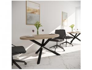 Обеденный стол Айрон Металл-Дизайн