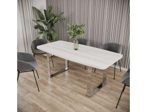 Обеденный стол СТОУН розкладной Металл-Дизайн