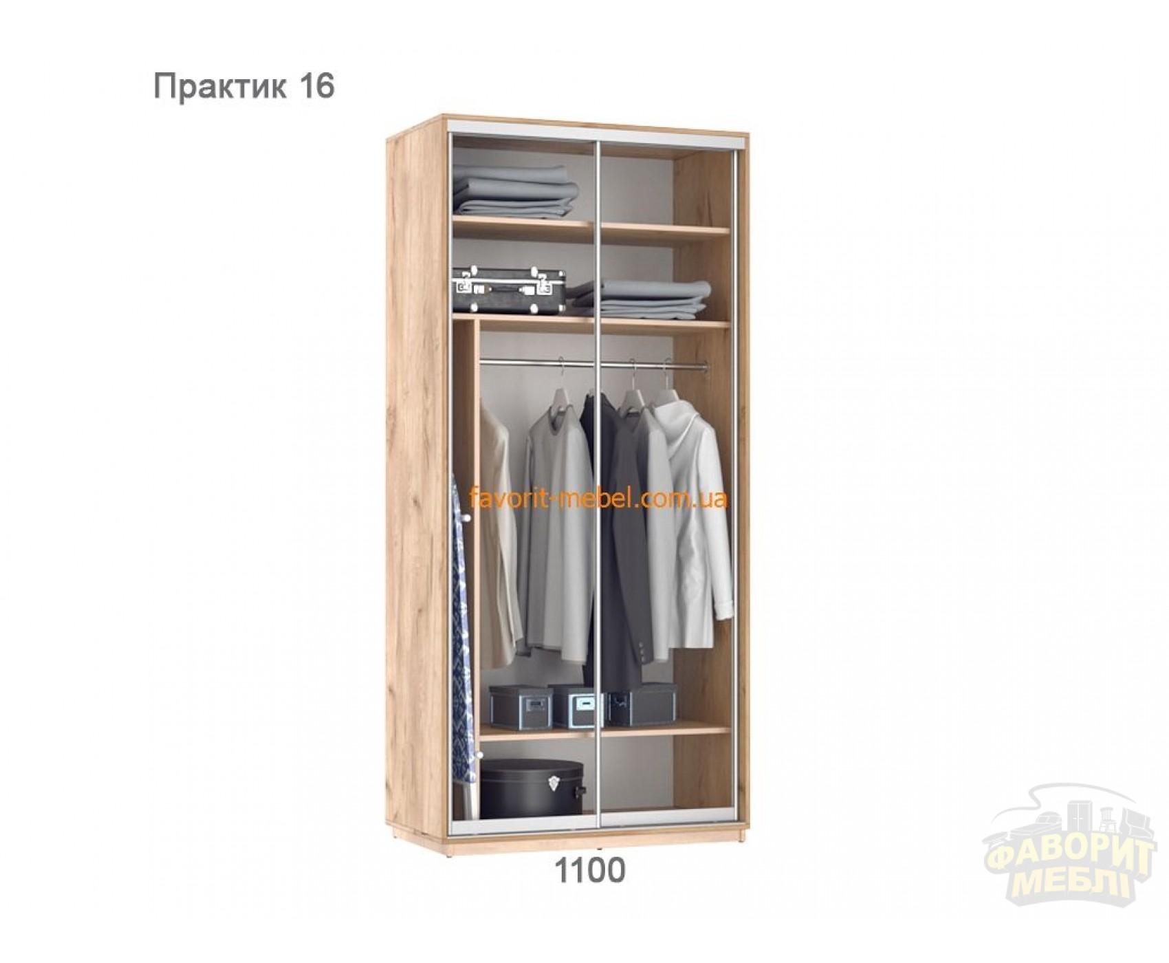 Шкаф купе Практик 16 (110х60х240 см)