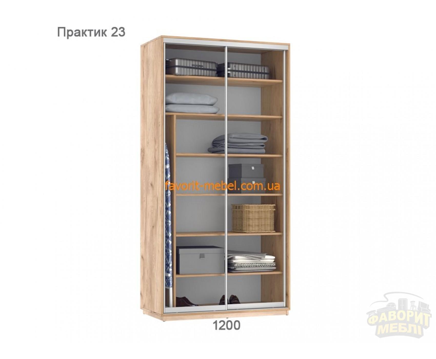 Шкаф купе Практик 23 (120х60х240 см)